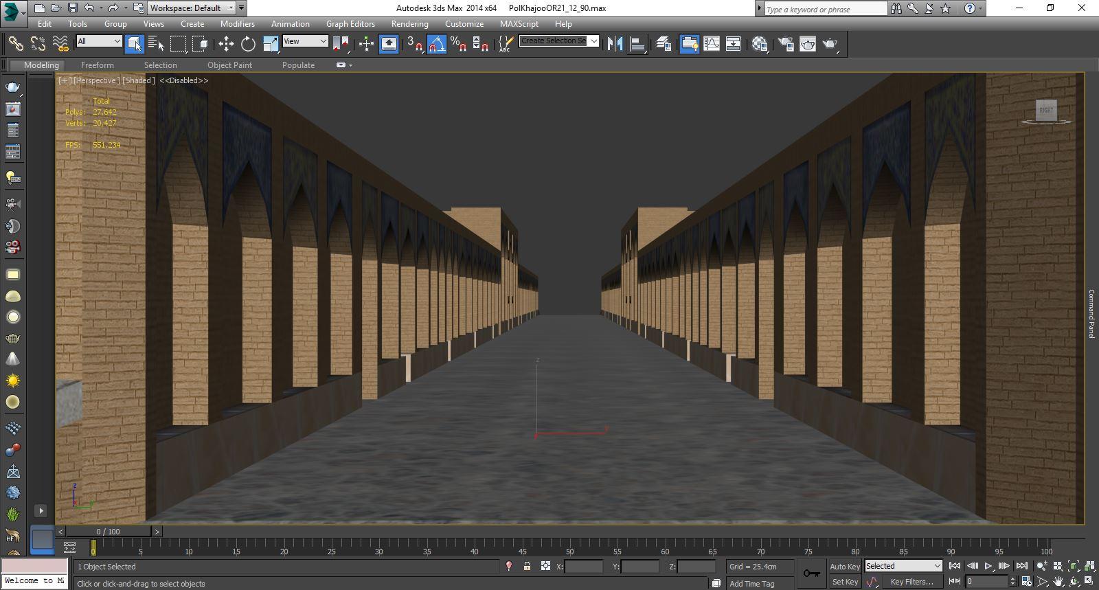 عکس های نمونه درباره پل خواجو به صورت تری دی